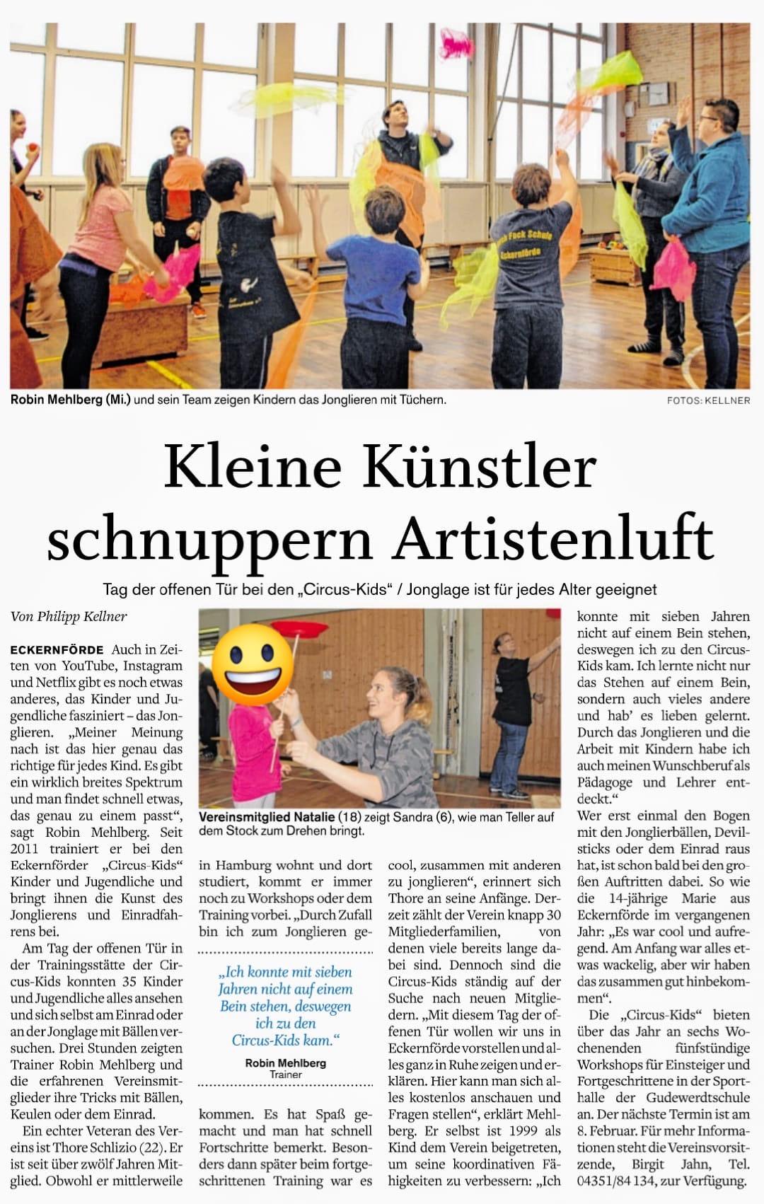 Eckernförder Zeitung vom 15.01.2020